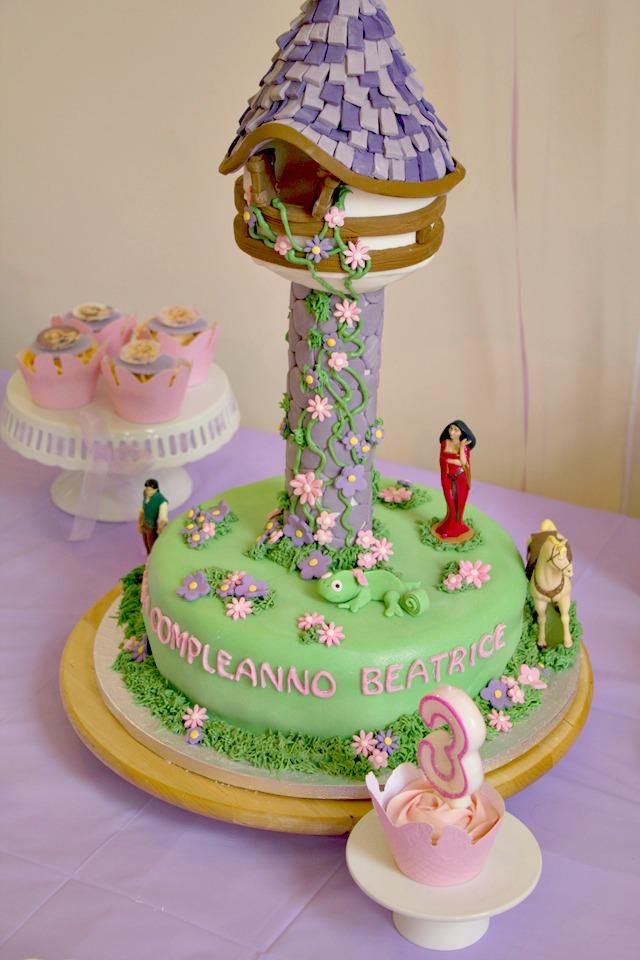 Rapunzel Cake Tower Topper