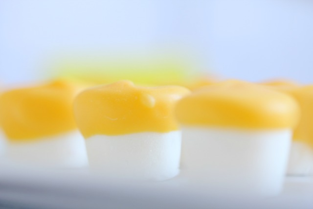 yellow marshmallows