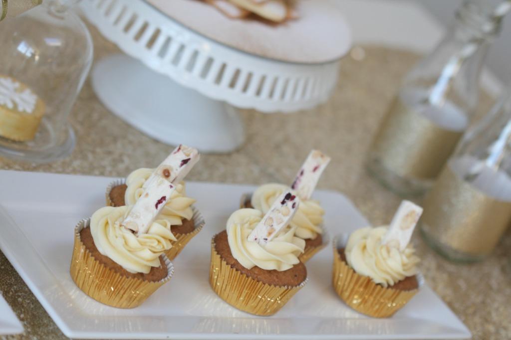 nougat cupcakes