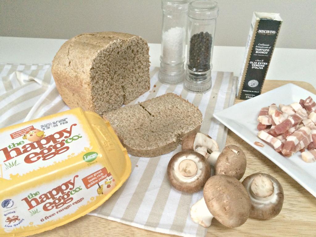 Happy Eggs recipe ingredients