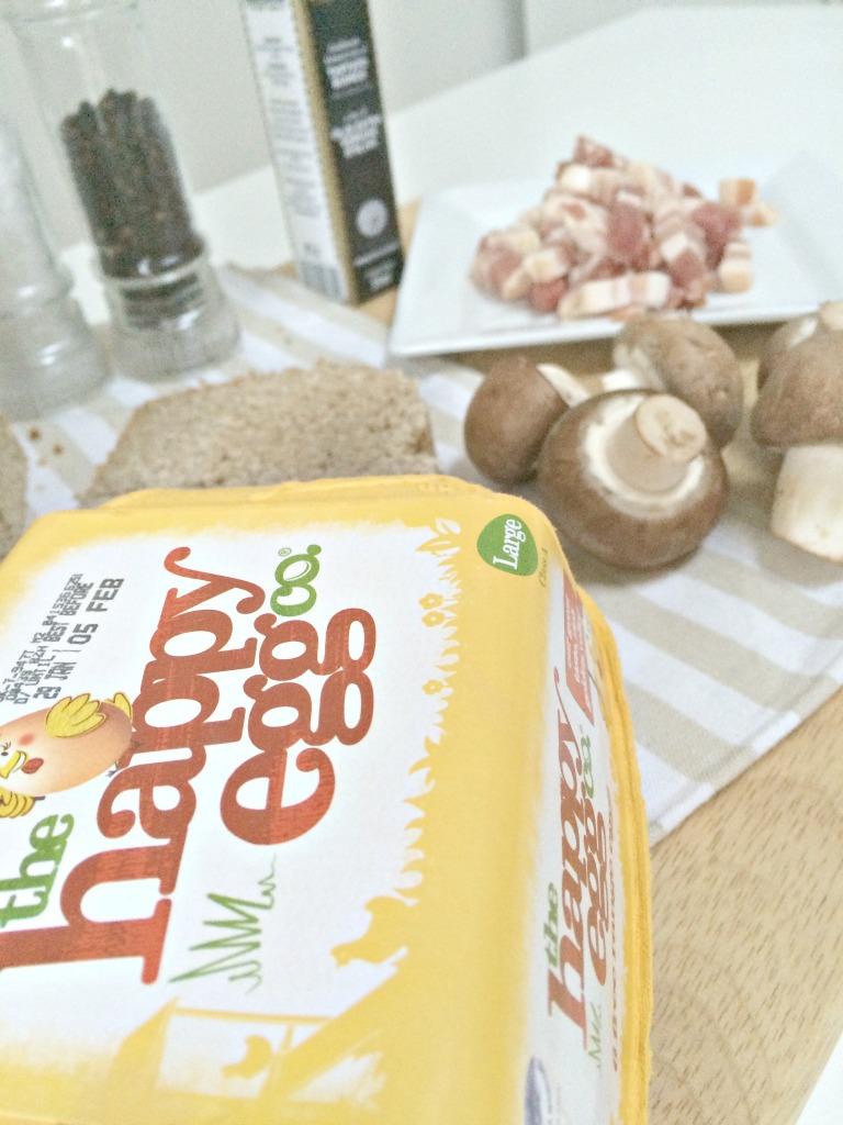 happy egg recipe