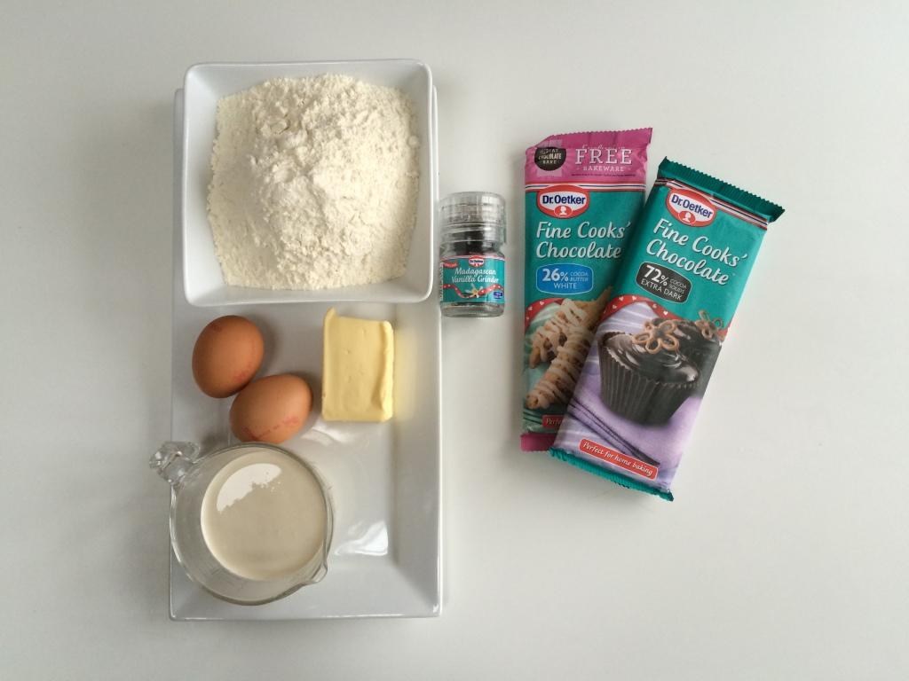 choux buns ingredients