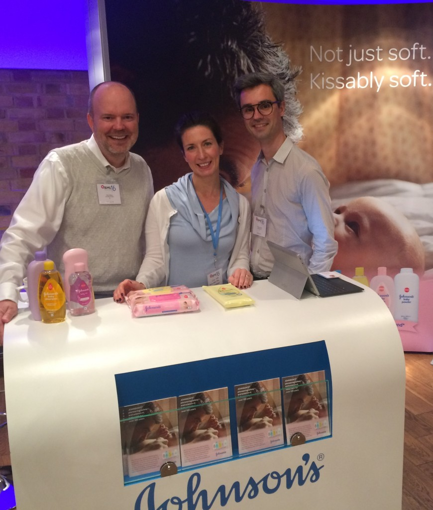 Johnson's stand at Britmums live