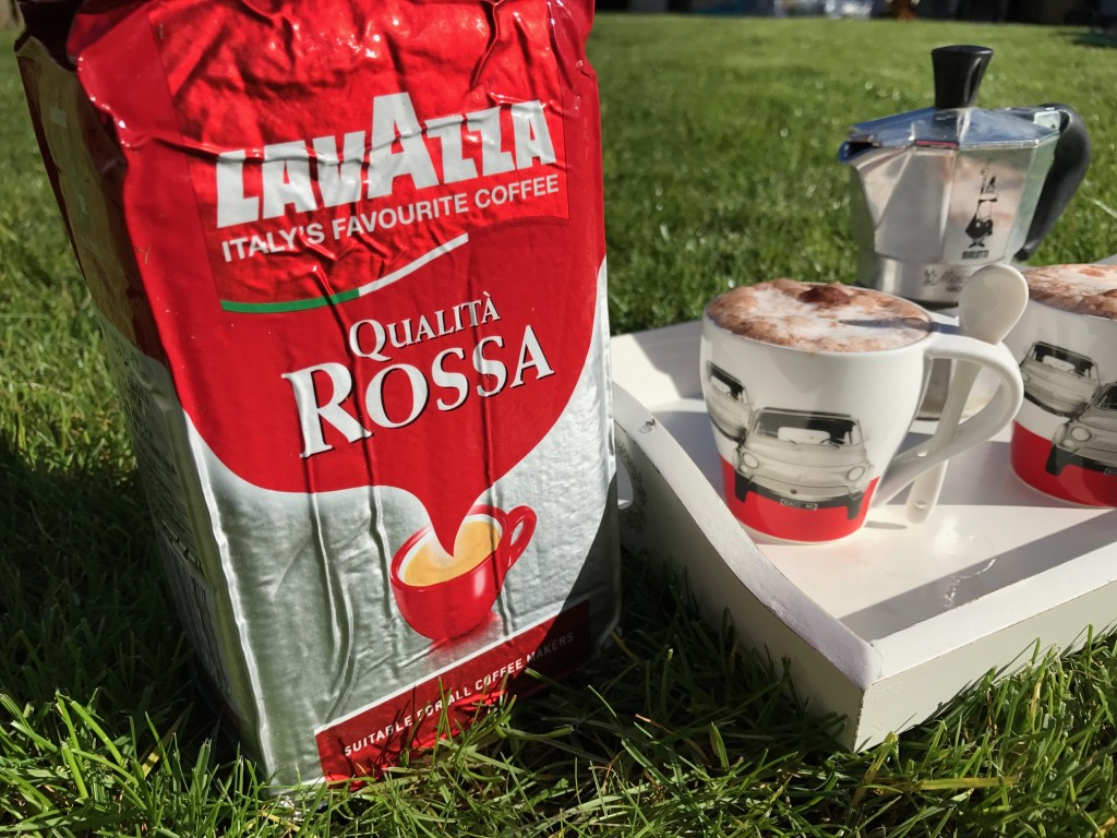 lavazza coffee grounds