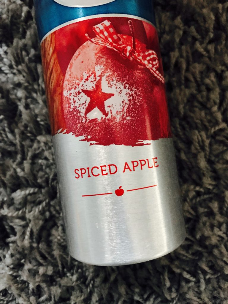 spiced apple scent