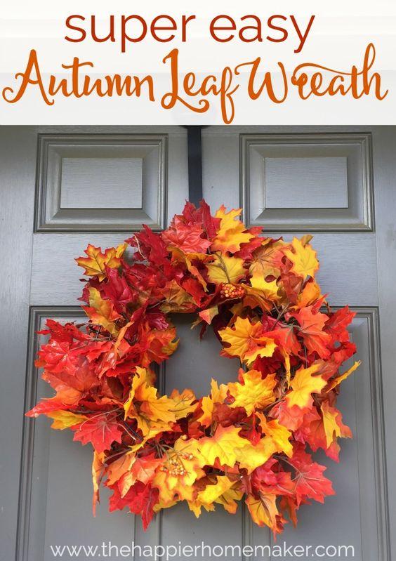leaves-wreath