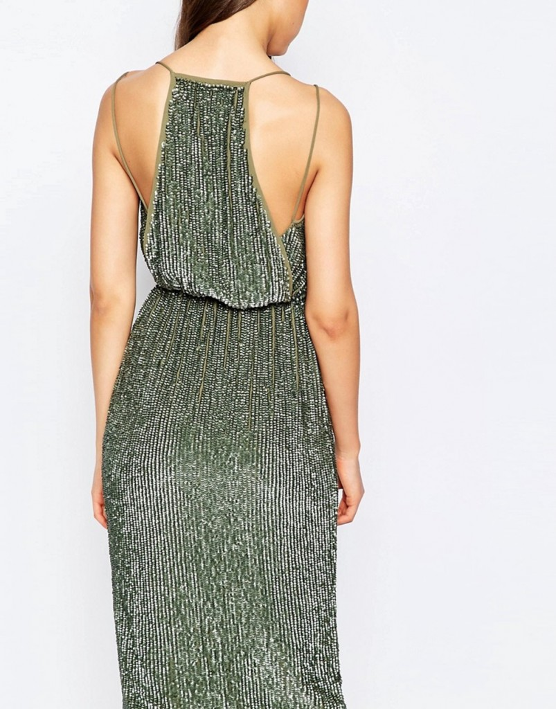 metallic-midi-dress