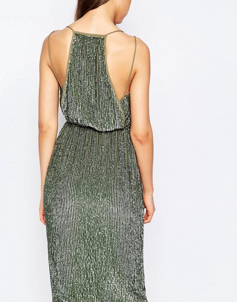 metallic-midi-dress