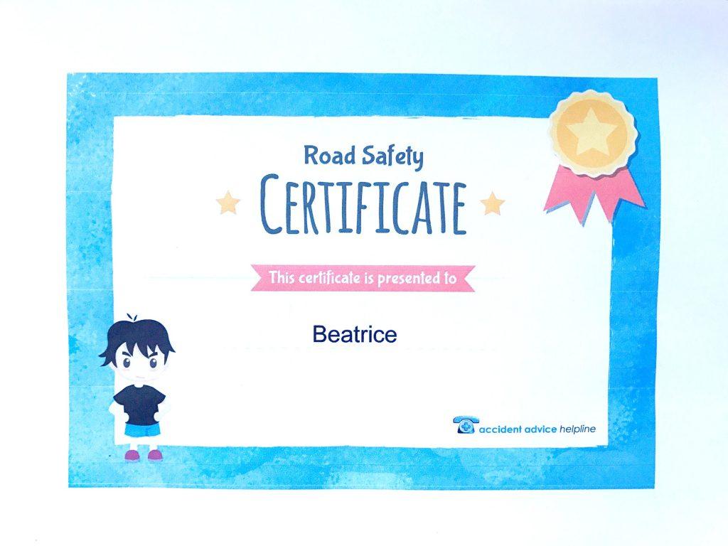 certificate bee