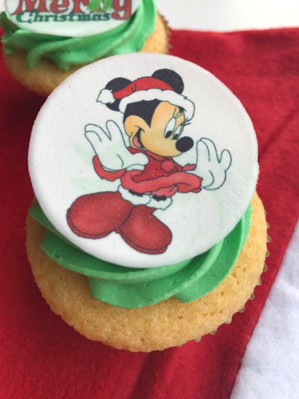 minnie-cupcake